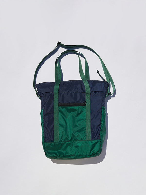 Zip Tote 16L - Navy / Green
