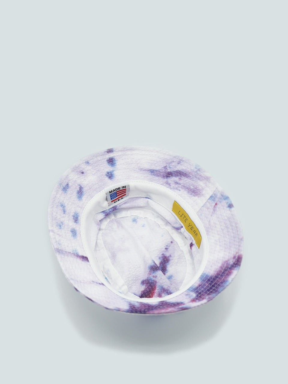 Emersin Bucket Hat - Purple Tie Dye