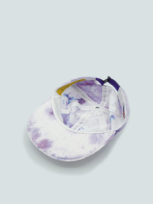 Emersin Six Panel Cap - Purple Tie Dye