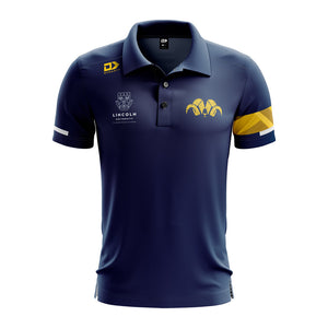 Lincoln University Mens Navy Polo