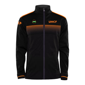 Upper Hutt City Football Fleece Lined Full Zip Jacket