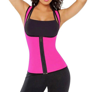 Mounchain Adult Women Sports Protect Neoprene Suit Waist Trainer Protective Vest for Weightloss Hot Thermal Corset
