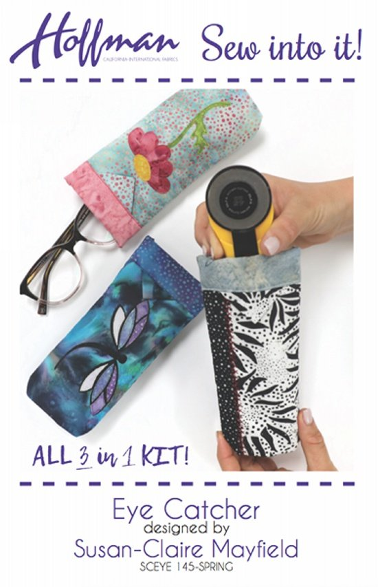 Hoffman Sew Into It Eye Catcher SUNGLASS   KIT