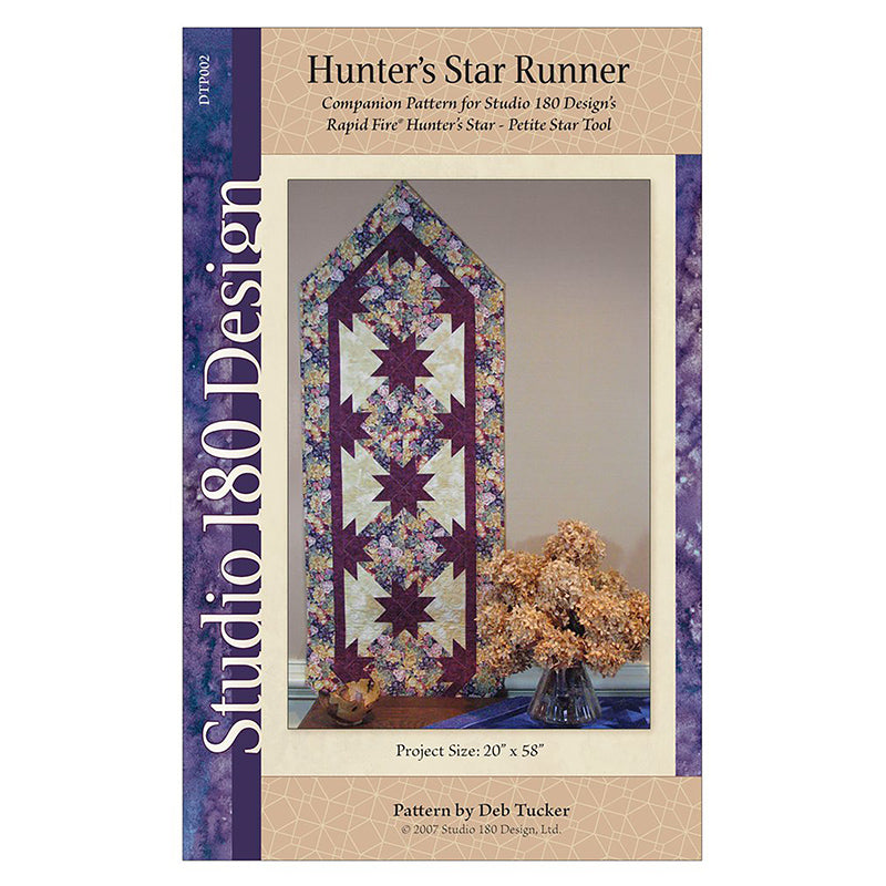 Hunters Star Ptd Table Runner
