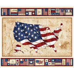 American Pride US FLAG PANEL MULTI