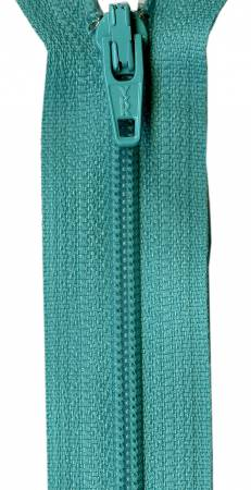 Tahiti Teal 14in Zipper