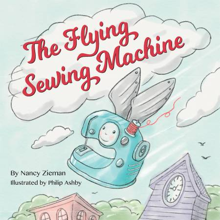 Flying Sewing Machine - Softcover