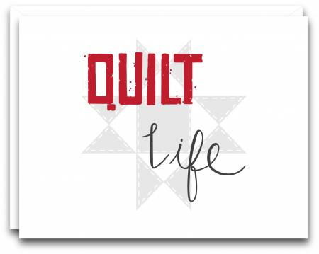 Quilt Life Gift Note Card