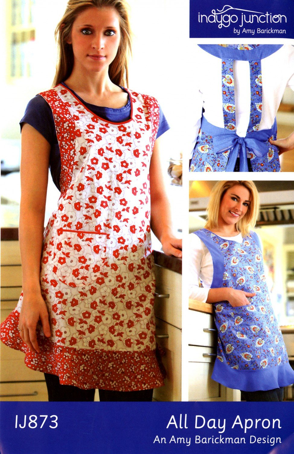 Indigo Junction...All Day Apron