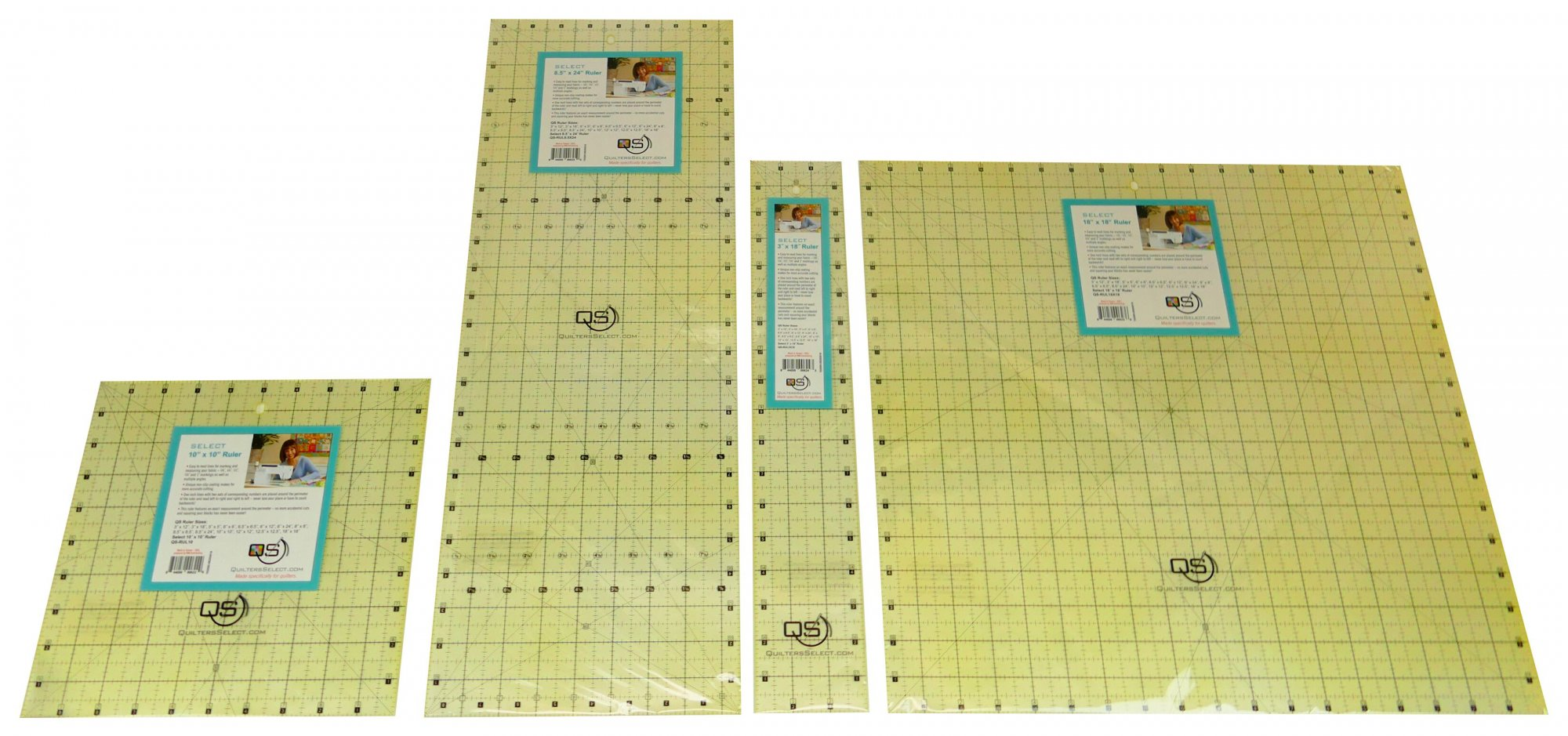 "Quilters Select 2.5"" x 18""   Ruler"