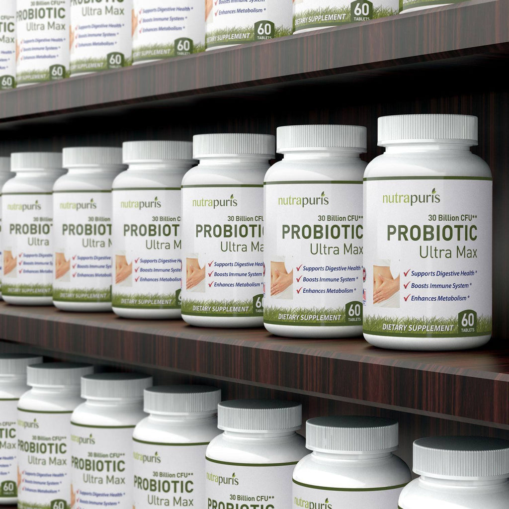 Digestive Health - Probiotic 30 Billion CFU