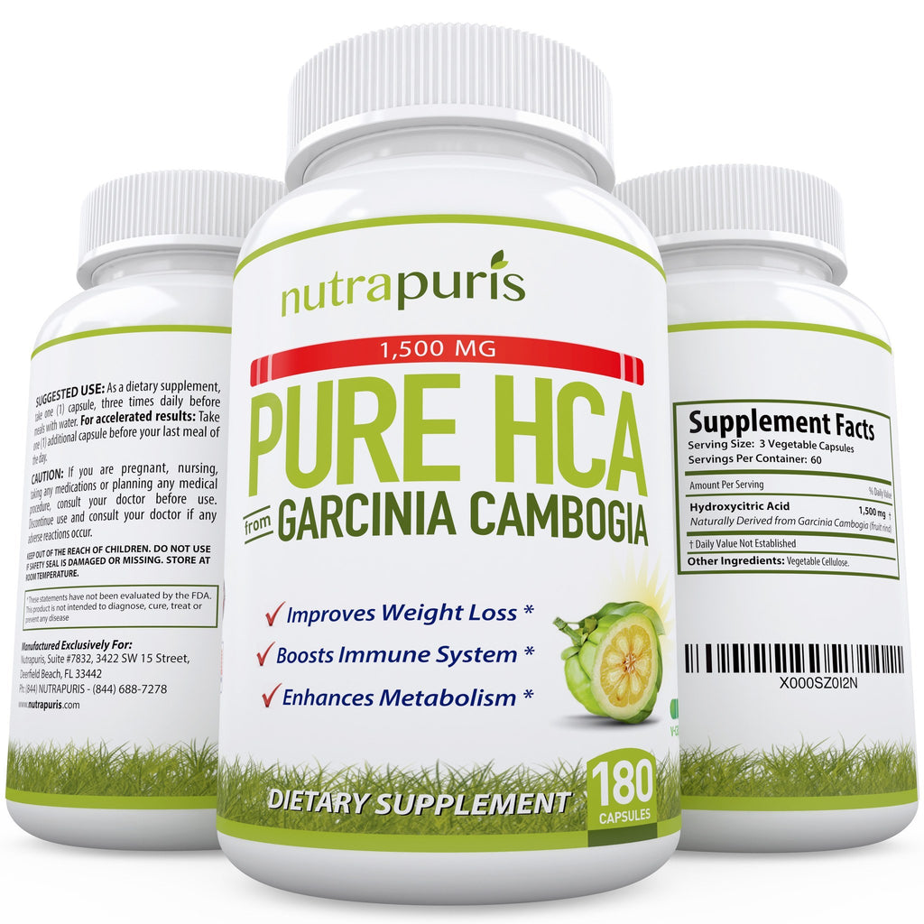 Weight Loss Supplement - 100% PURE HCA From Garcinia Cambogia