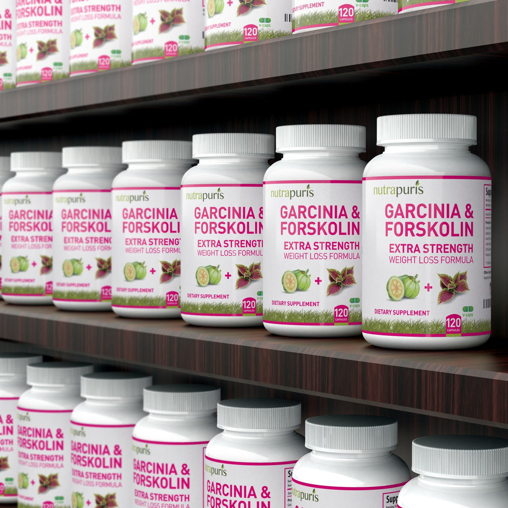 Weight Loss Supplement - 2-in-1 Garcinia And Forskolin Blend