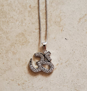 CZ Ohm Necklace