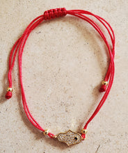 Load image into Gallery viewer, Hamsa Red String Bracelet