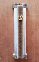 Load image into Gallery viewer, Medium Crackled Ceramic or Matte Brown Ceramic Mezuzah