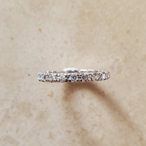 Thick CZ Ring