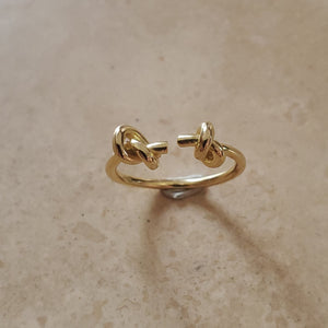 Double Lover's Knot Ring
