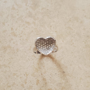 Dimensional Heart Ring