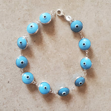 Load image into Gallery viewer, Classic Evil Eye Bracelet