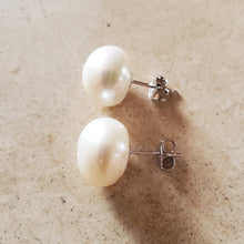 Load image into Gallery viewer, Freshwater Pearl Stud Earrings