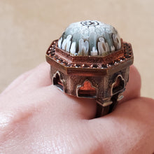 Load image into Gallery viewer, Sky-High Murano Glass Ring