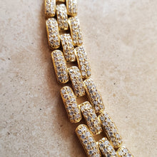 Load image into Gallery viewer, Gold Vermeil Link Bracelet