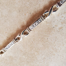 Load image into Gallery viewer, Silver Infinity Symbol Bracelet