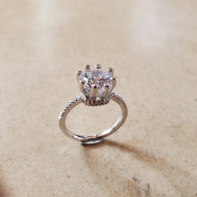 Load image into Gallery viewer, 8 Prong CZ Engagement Ring