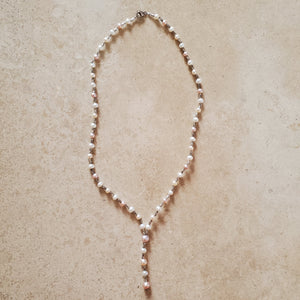 Fresh Water Pearl and Silver Necklace