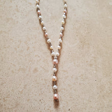 Load image into Gallery viewer, Fresh Water Pearl and Silver Necklace