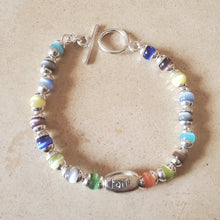 Load image into Gallery viewer, Love, Courage, Hope, and Faith Bracelet