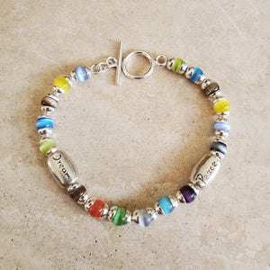 Peace and Dream Bracelet