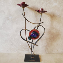 Load image into Gallery viewer, Handmade Heart Candle Holder