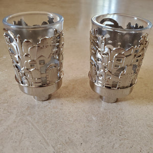 Silver Candle Holder Insert