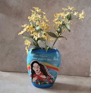 Woman of Valor Vase