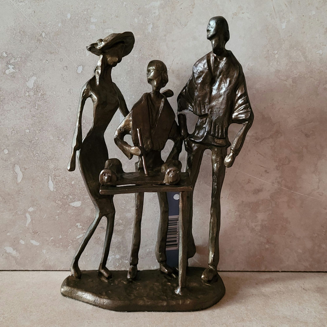 Bronze Bar Mitzvah Sculpture