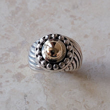 Load image into Gallery viewer, Sterling Silver and 18k Ring