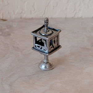 Small Sterling Silver Dreidel