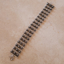 Load image into Gallery viewer, Silver Wide Bracelet