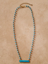 Load image into Gallery viewer, Turquoise Beaded Necklace