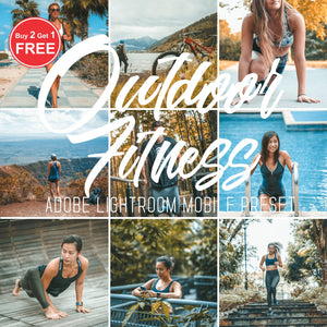 Outdoor Fitness Lightroom Mobile Presets