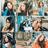 Adobe Lightroom Mobile Preset Bundle Chill Presets Clean And Bright Natural Color Vivid For Skin Beauty Retouch Selfie Classic Filters Vsco