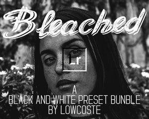 20 Lightroom Desktop Presets | HDR Black And White Bleached | Lightroom and Camera Raw Preset Bundle