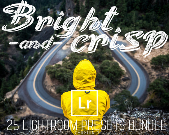 bright and crisp 25 lightroom presets bundle