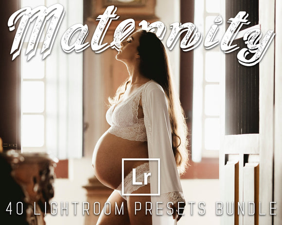 Maternity Presets Bundle Lightroom For Desktop 40 Pack Birth Photography