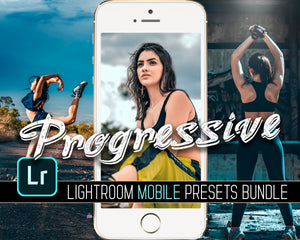 Progressive Overload Mobile Presets Bundle Lightroom