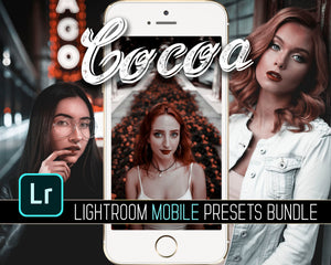 Cocoa Lightroom Mobile Presets Bundle