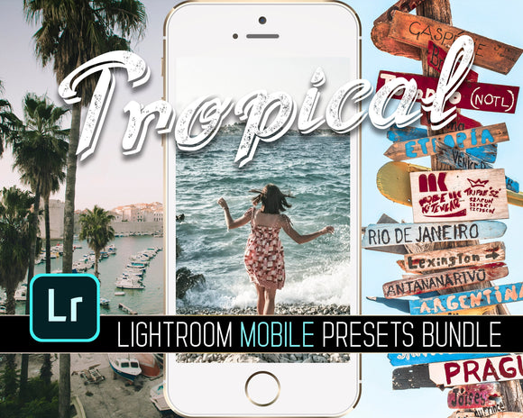 Tropical Lightroom Mobile CC Presets