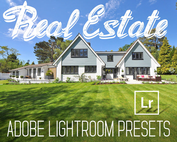 Real Estate Lightroom Presets Indoor And Outdoor - Color Correction - Clean Minimal HDR